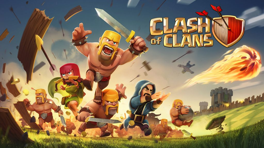 clash of clans hacked version