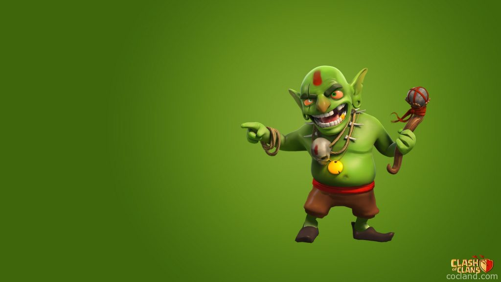 clash-of-clans-goblin-wallpaper